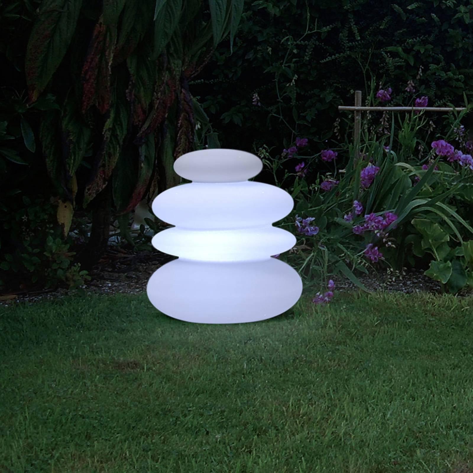Newgarden Balans -LED-aurinkolattiavalo, akku