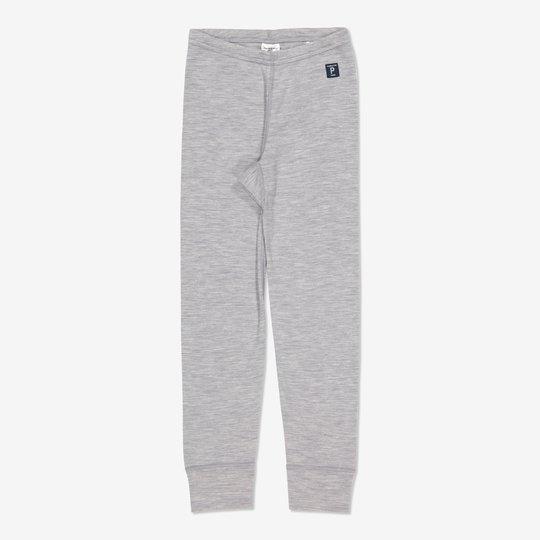 Merinoull bukse gråmelange