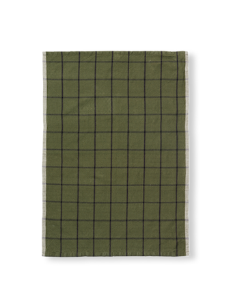 Hale Kökshandduk Green/Black