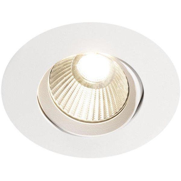 Hide-a-Lite Optic Quick ISO Downlight-valaisin 6W, valkoinen, 4000K