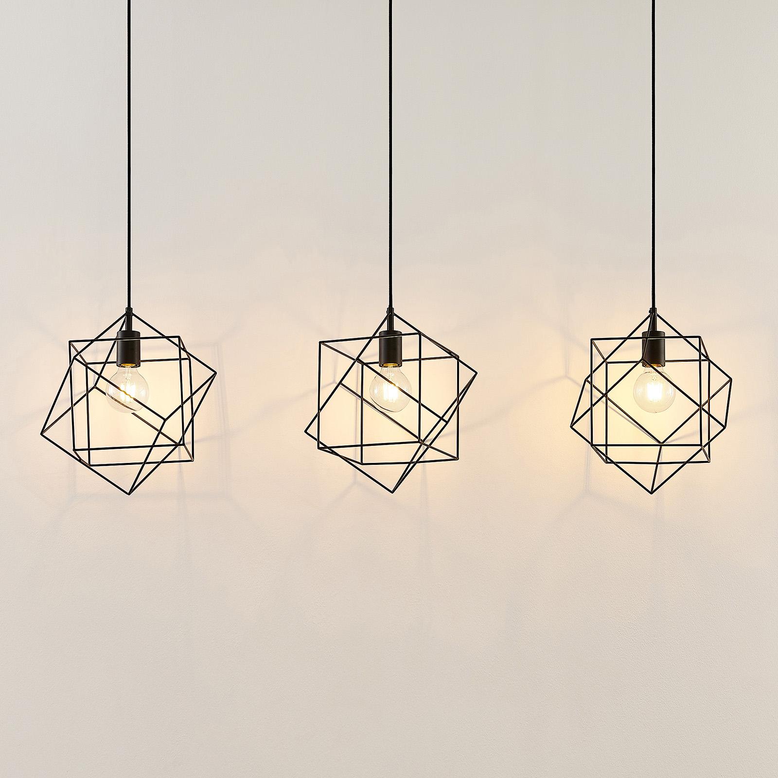 Lindby Finnigan -riippuvalaisin, 3-lamppuinen