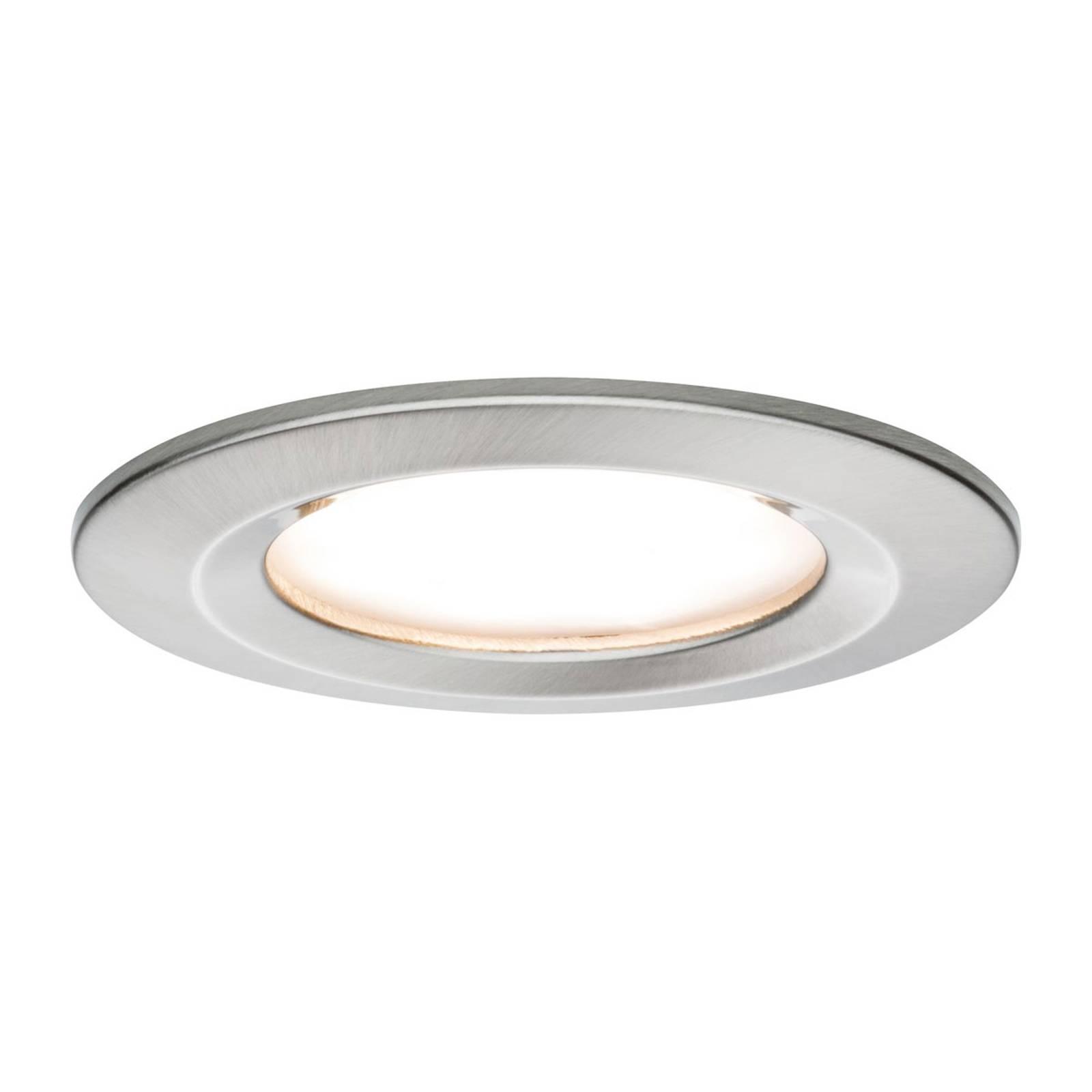 Paulmann LED-spotti Nova Coin pyöreä, rauta