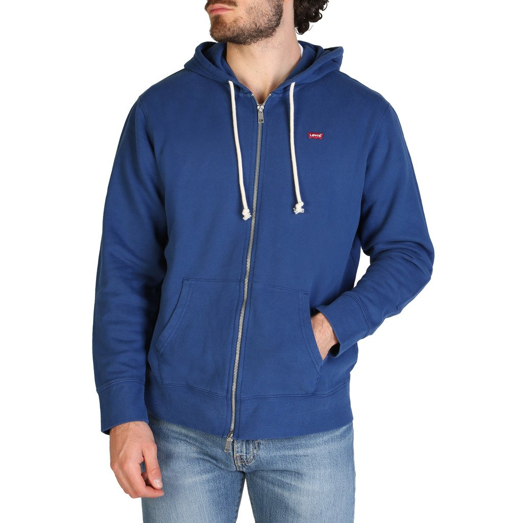Levis Men's Sweatshirt Blue 34584_NEW-ORIGINAL - blue M