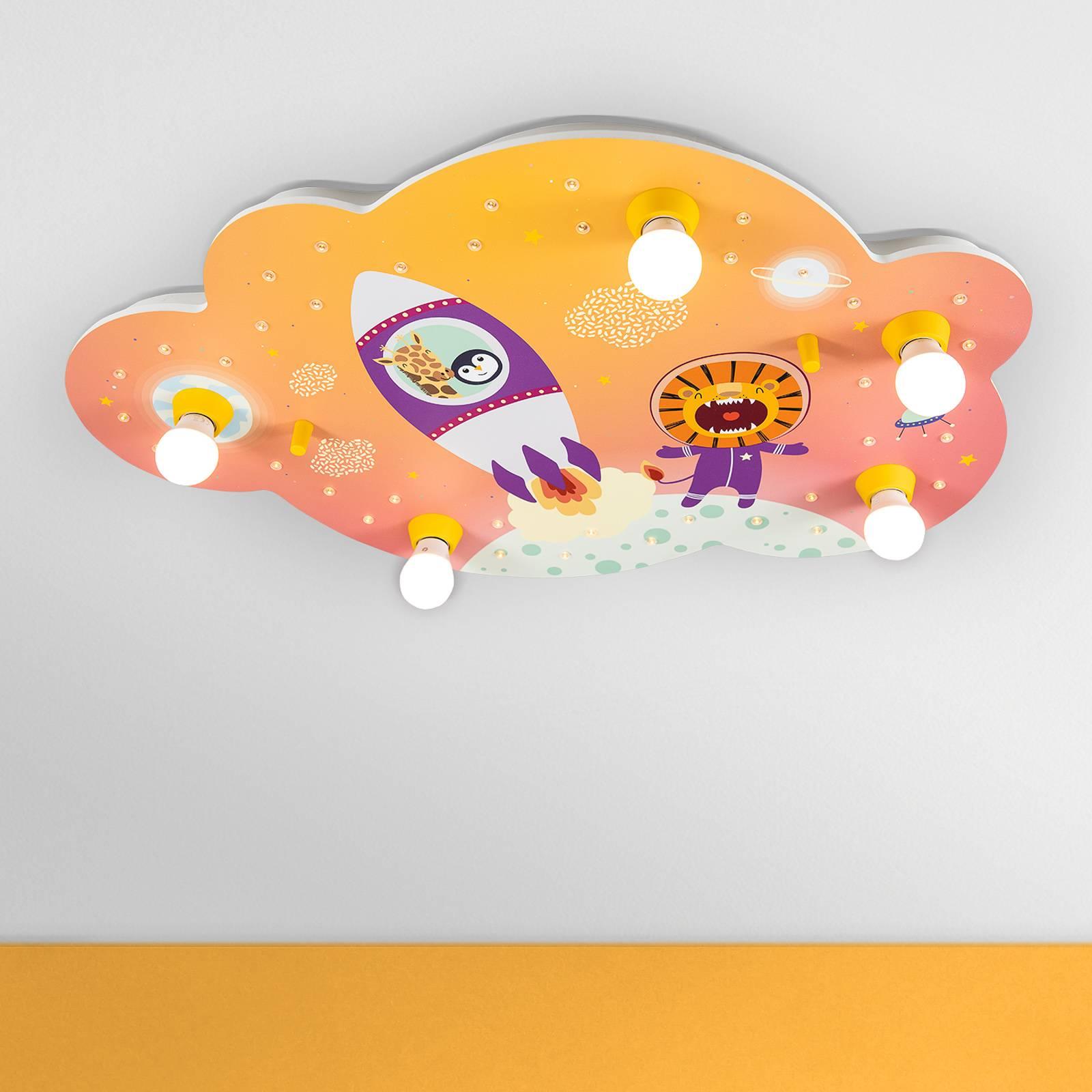 Kattovalaisin Escape, oranssi, pilvi