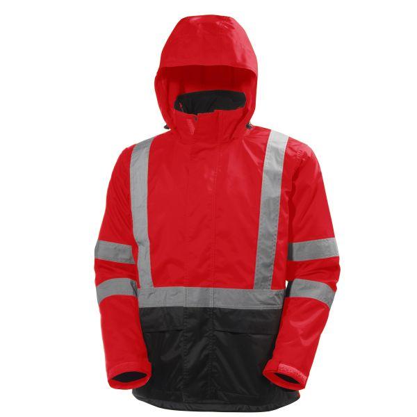 Helly Hansen Workwear Alta Softshelltakki huomioväri, punainen/musta S
