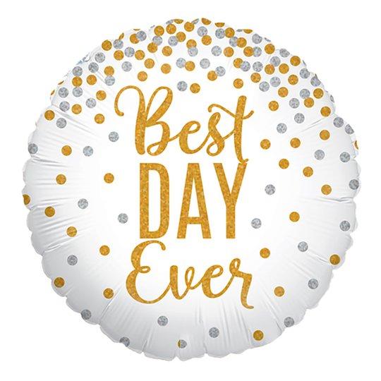 Folieballong Best Day Ever