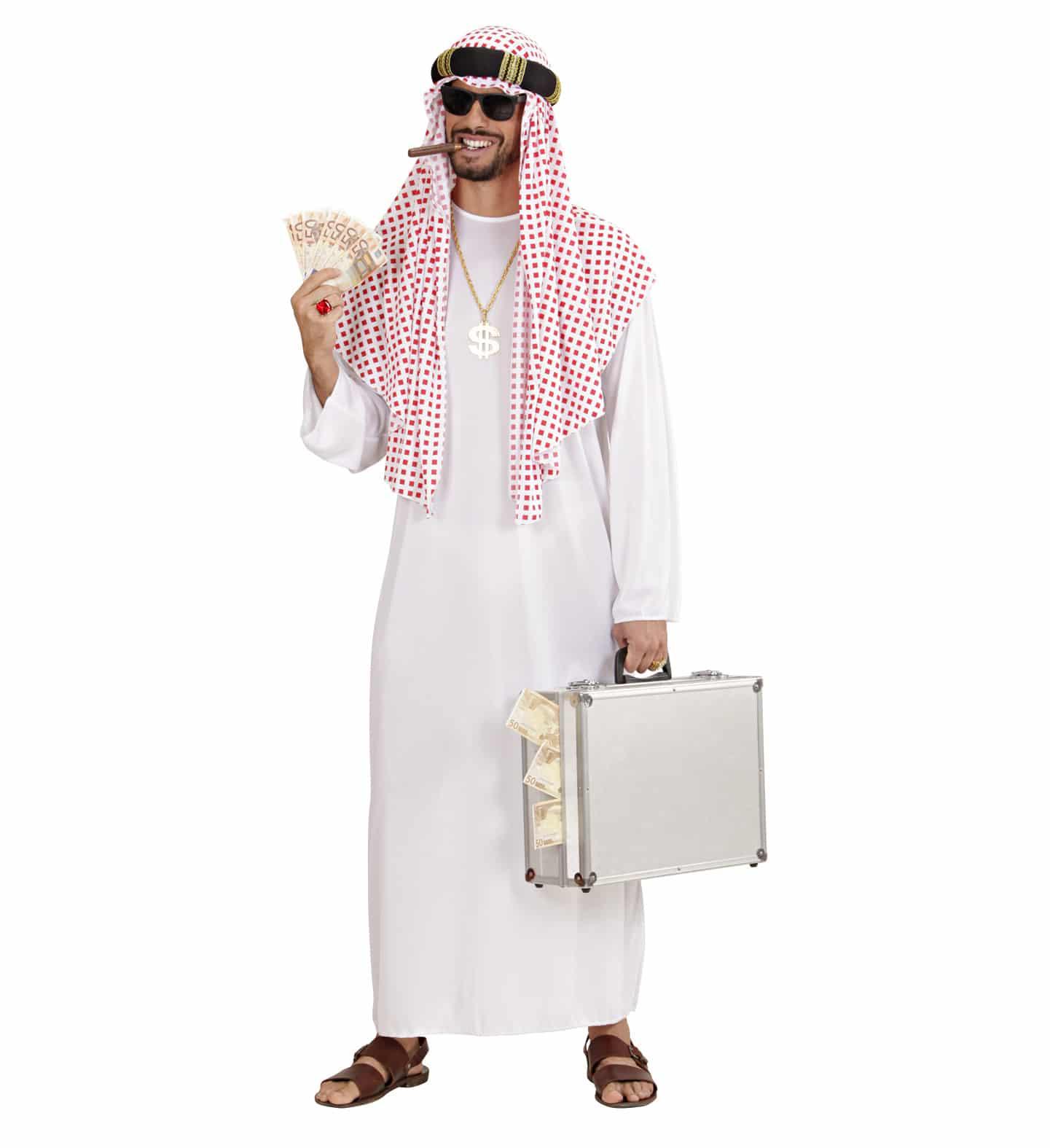Arabdräkt shejk
