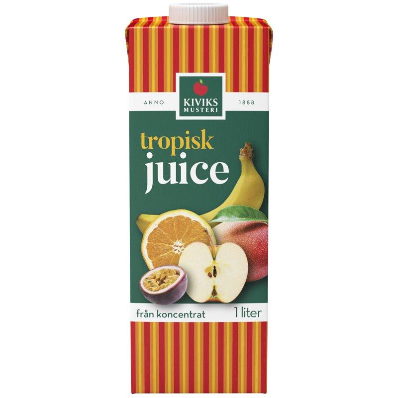 Juice Tropisk 1l - 19% rabatt