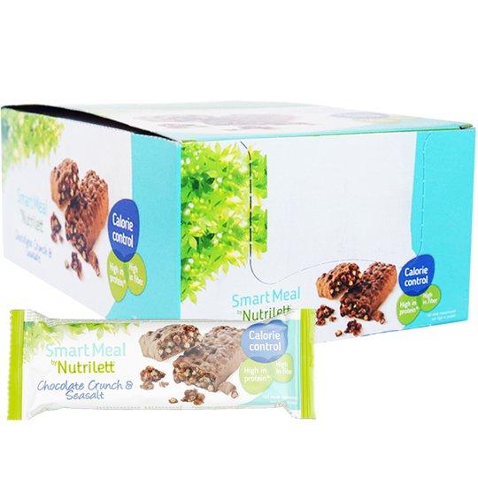 """Hel Låda Mealbars """"Chocolate & Seasalt"""" 20 x 60g - 63% rabatt"""