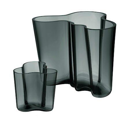Aalto Vase gavesett 160+95 mm Mørkegrå