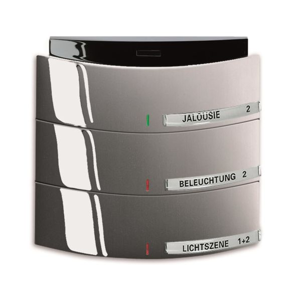 ABB Busch-triton 6320-0-0012 Painike Infrapuna, 3-napainen KNX Maalattu, matta, platina