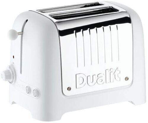 Dualit Lite 2-slot White Ce Whi Brödrost