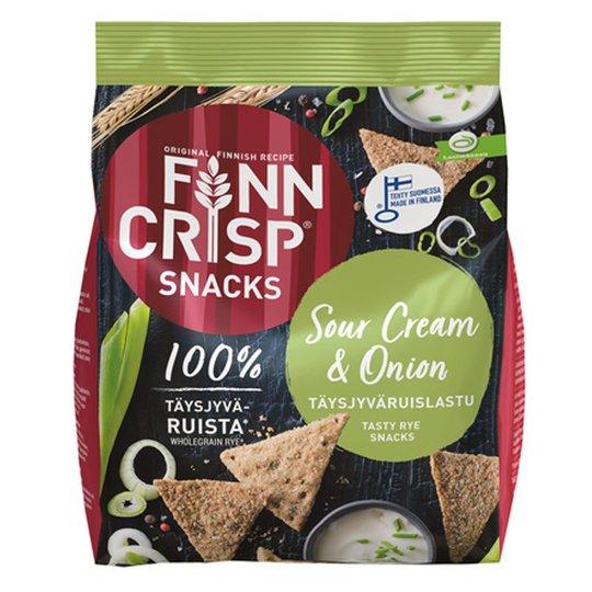 Täysjyväruislastut Sour Cream & Onion - 24% alennus