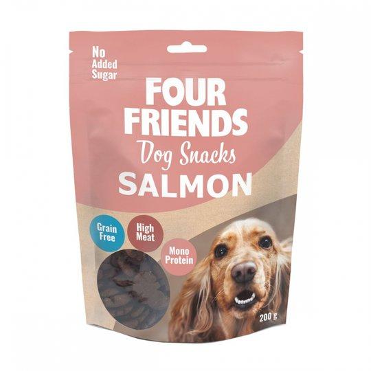 Four Friends Dog Snacks Salmon 200 g