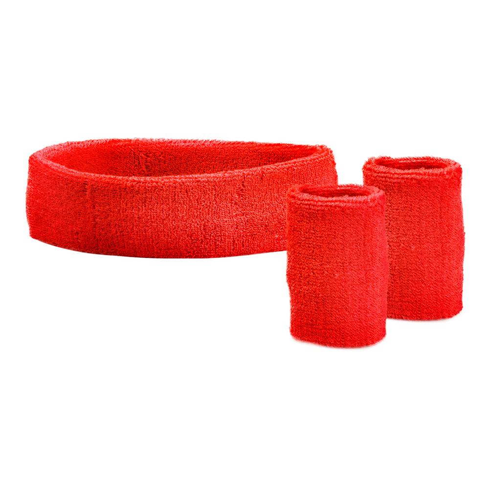 Svettband Kit Röd - One size