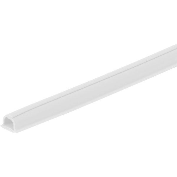 Plasfix Cablefix 2200 Kaapelikanava valkoinen, itsekiinnittyvä, 4 kpl 1 m x 5,5 mm