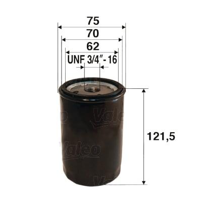 Öljynsuodatin VALEO 586052