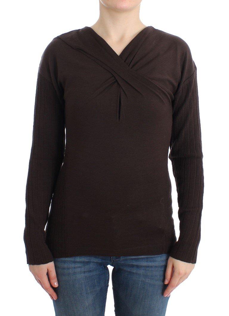 Cavalli Women's Sweater Brown SIG11848 - IT44|L