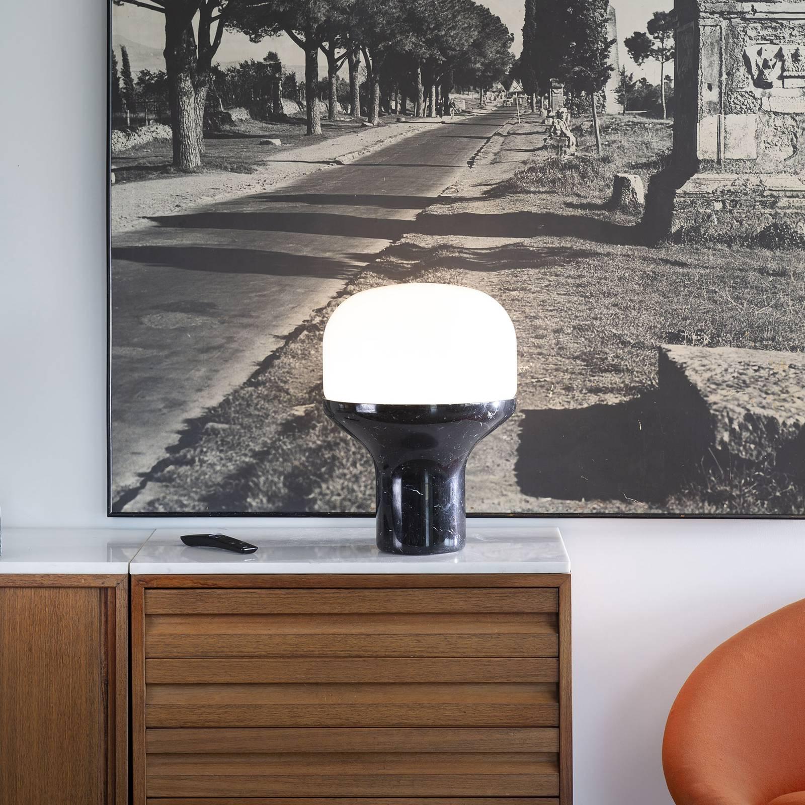 Martinelli Luce Delux -pöytälamppu 43 cm musta
