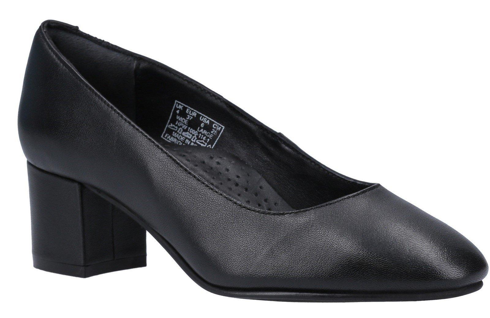 Hush Puppies Women's Anna Slip On Court Shoe Various Colours 30217 - Black 3