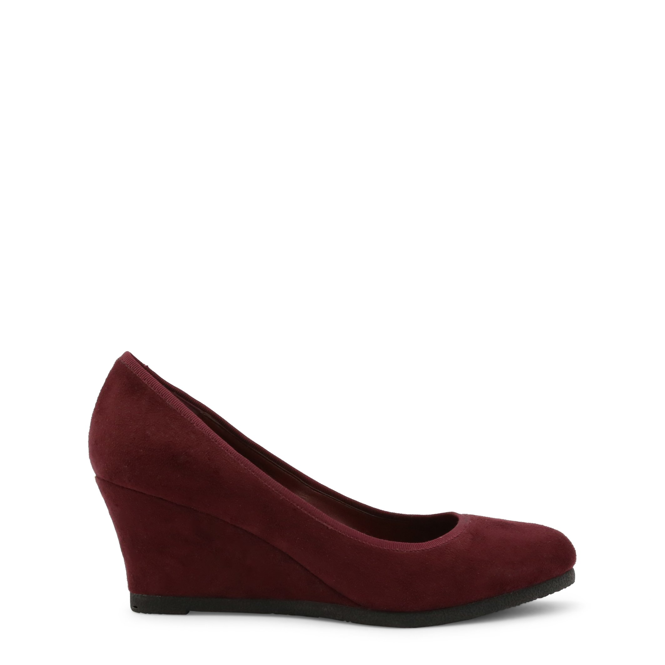 Roccobarocco Women's Wedges Shoe Brown 342946 - red EU 37