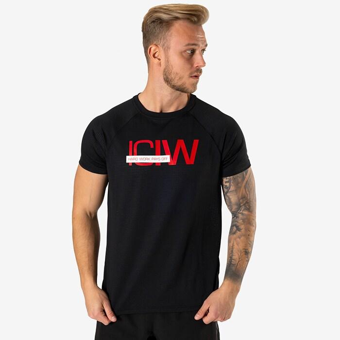Mesh Training T-shirt, Black