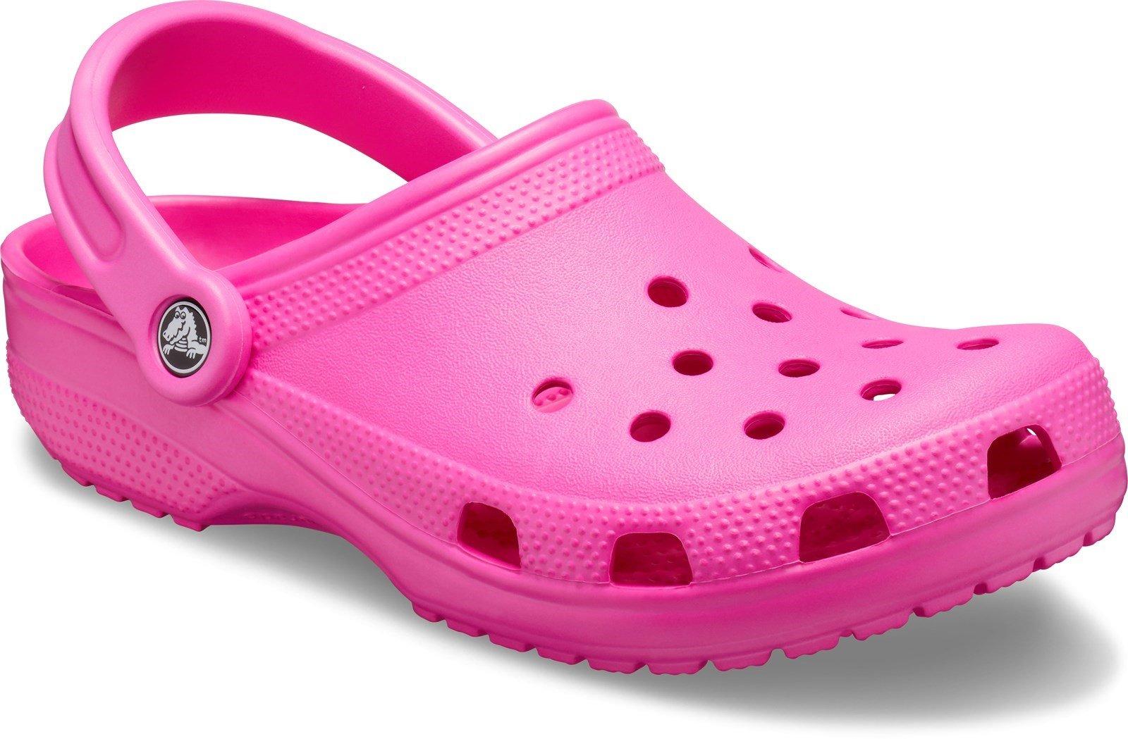 Crocs Unisex Classic Clog Sandal Various Colours 21060 - Electric Pink 3