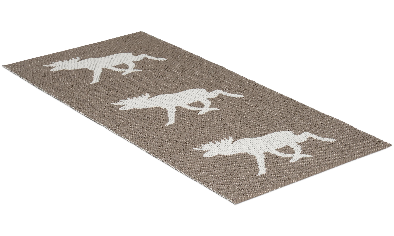 Moose brun - plastteppe