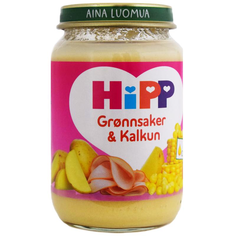Barnmat Kalkon & Grönsaker 190g - 33% rabatt
