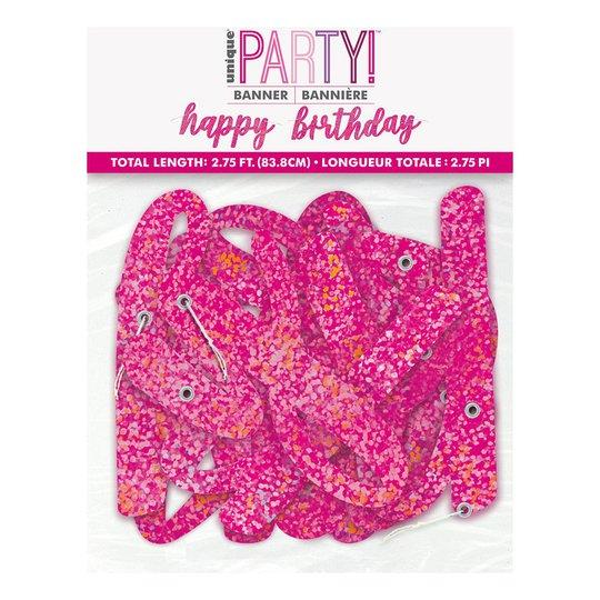 Girlang Happy Birthday Rosa/Glitter