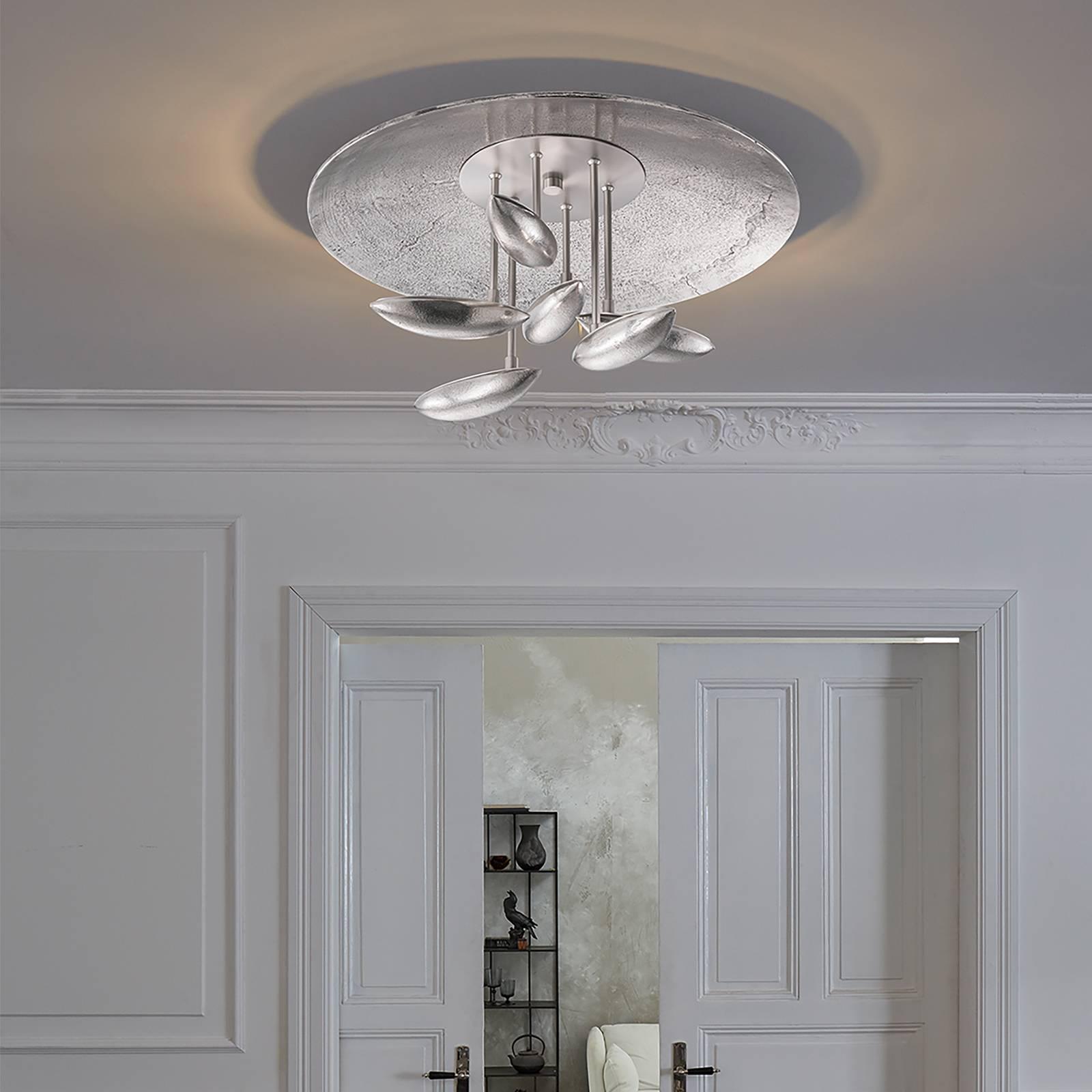 LED-kattovalaisin Forla Ø 50, säädettävä valoväri