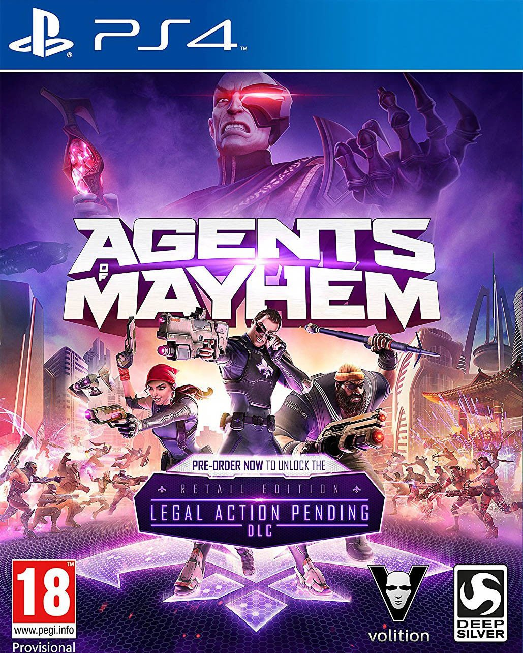Agents of Mayhem Retail Edition