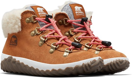 Sorel Youth Out N About Conquest Støvel, Camel Brown/Quarry 32