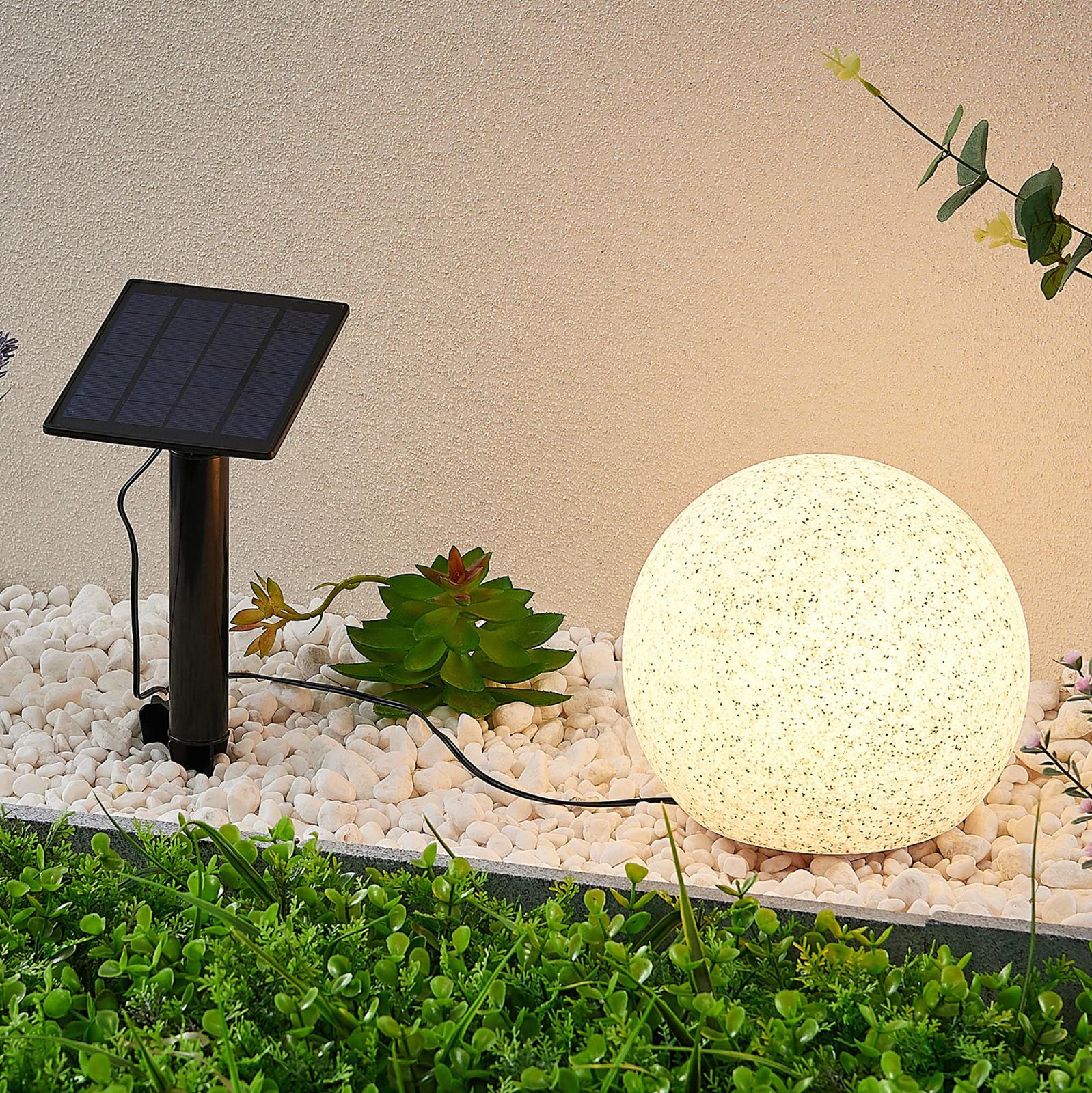 Lindby Hamela -LED-aurinko-koristevalo, RGB, 20 cm