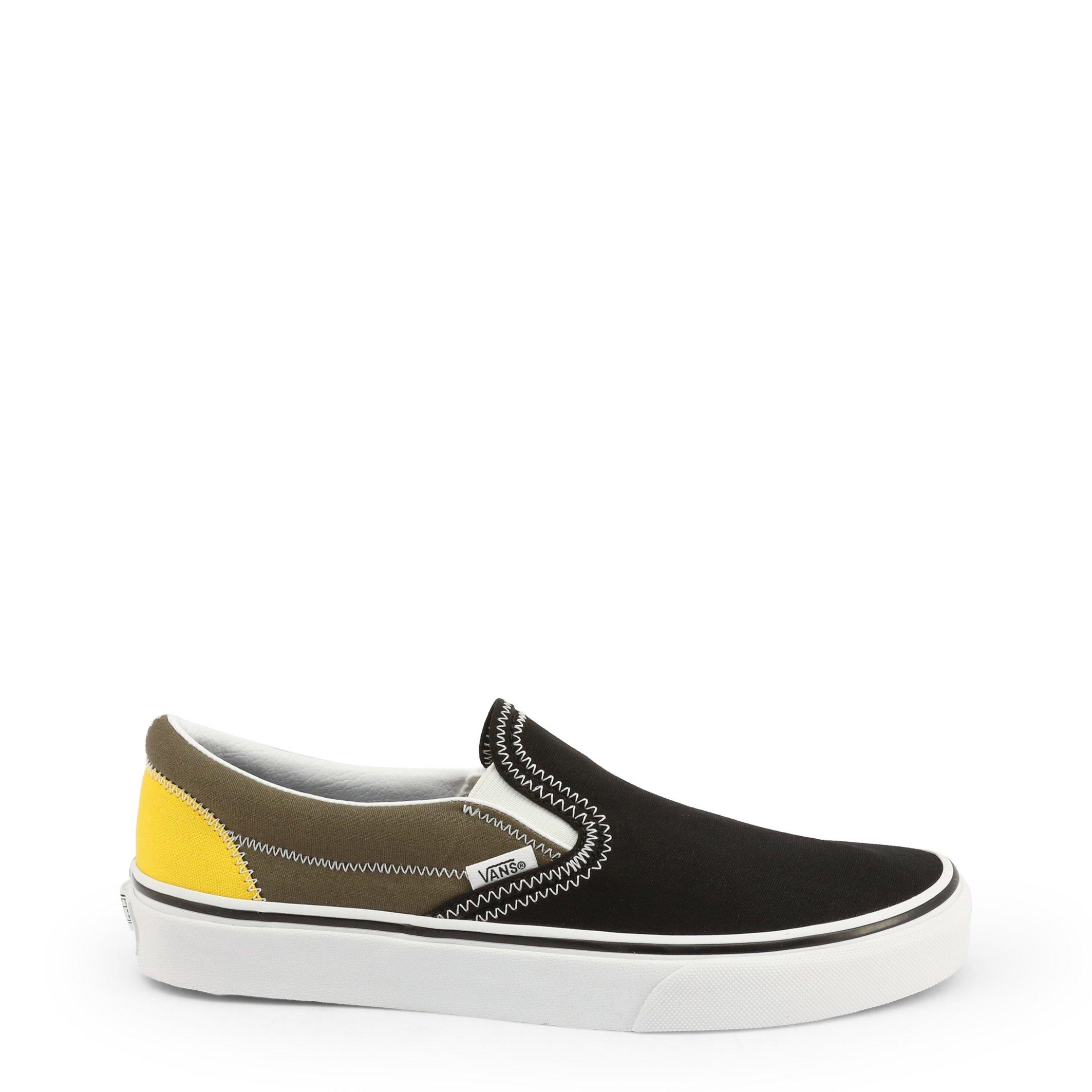 Vans Unisex Slip On Shoe Black CLASSIC-SLIP-ON_VN0A4U38 - black-1 US 5