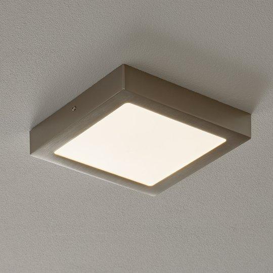 Fueva Connect -LED-kattovalo 22,5 cm, nikk.
