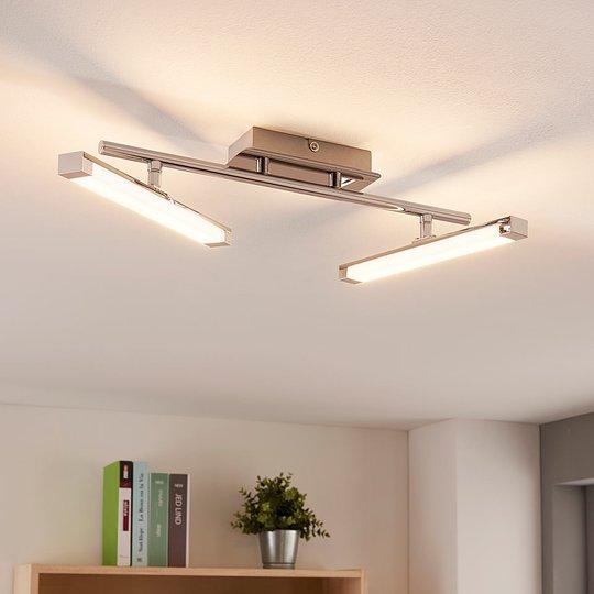 Moderni LED-kattovalaisin Pilou, 3 tason himmennys