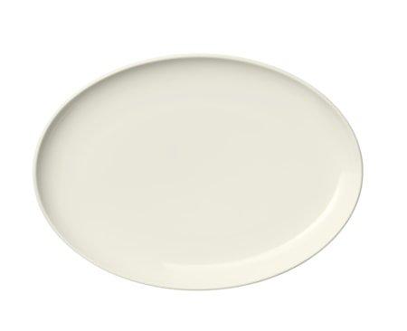 Essence Tallerken 25 cm oval hvit