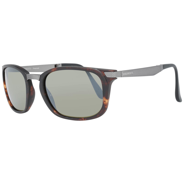 Serengeti Men's Sunglasses Brown 8497