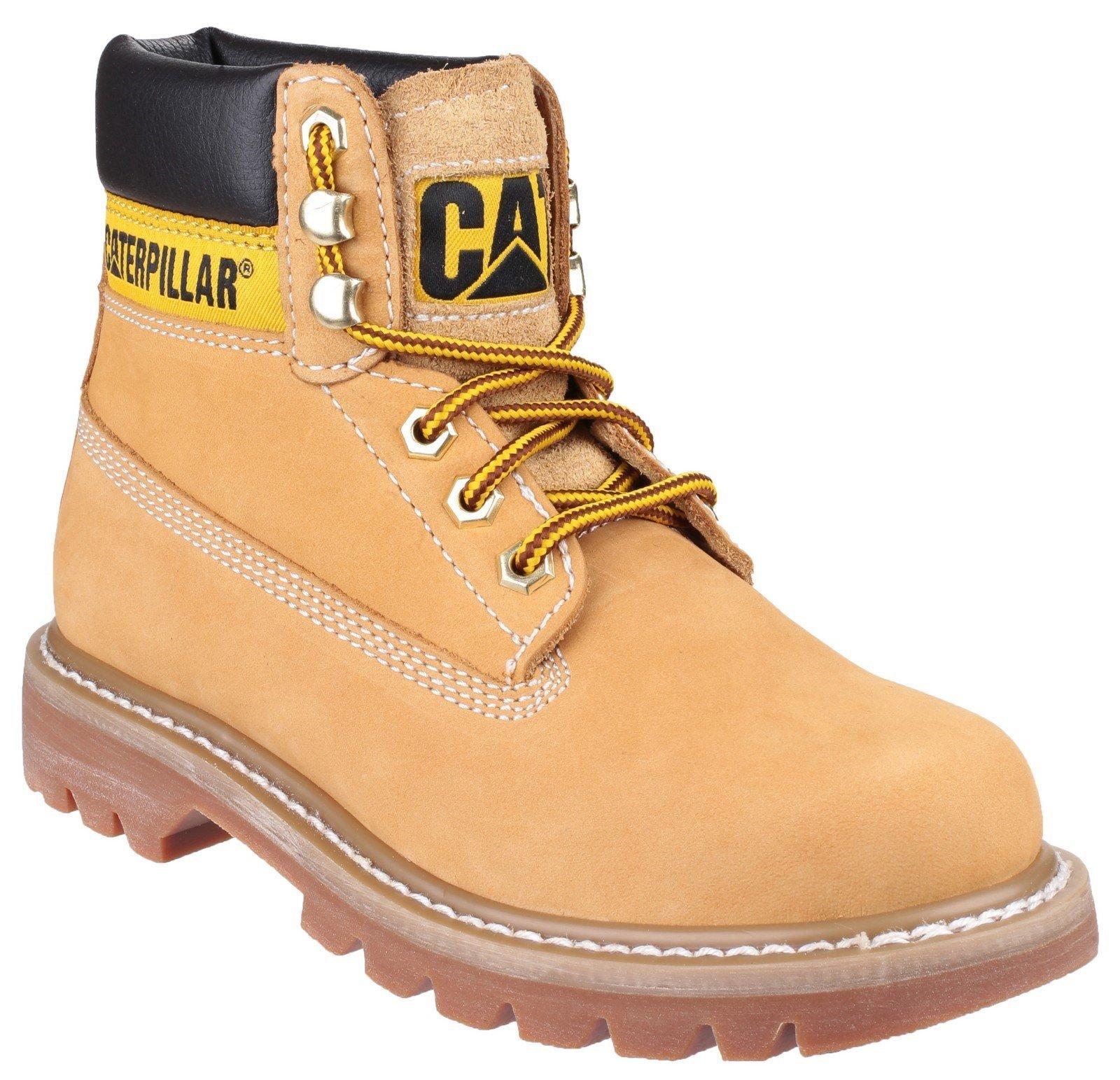 CAT Lifestyle Women's Colorado Lace Up Boot Various Colours 24329 - Honey Reset 8