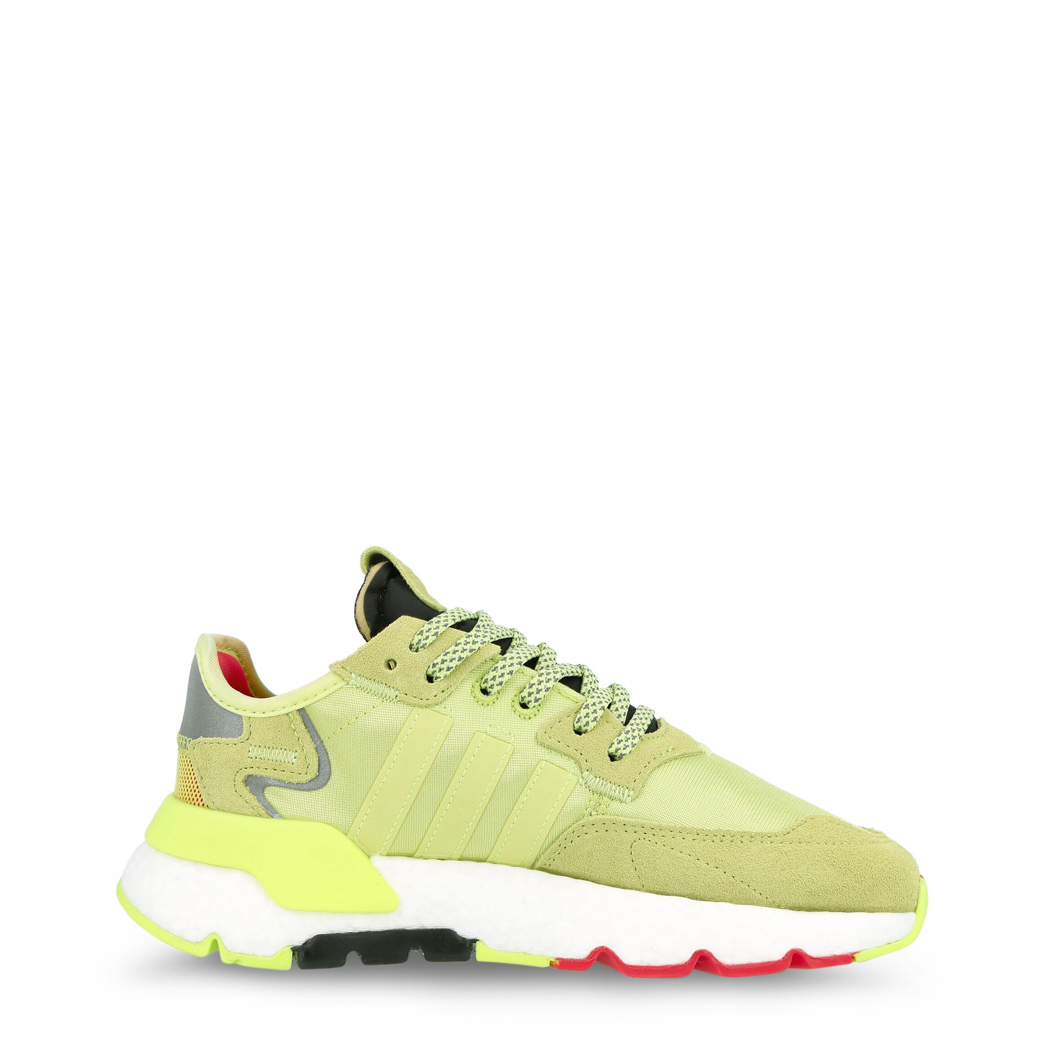Adidas Men's Nite Jogger Trainers Various Colours EE5851 - yellow 5.5 UK
