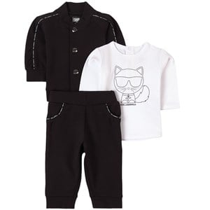 Karl Lagerfeld Kids Choupette Mjukisset Svart 6 mån
