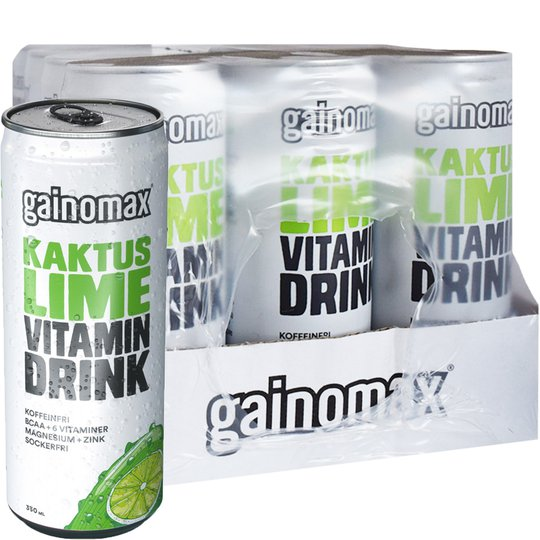 Vitamindryck Kaktus & Lime 12-pack - 74% rabatt