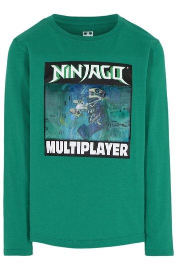 LEGO Collection Langermet T-Shirt, Light Green, 110