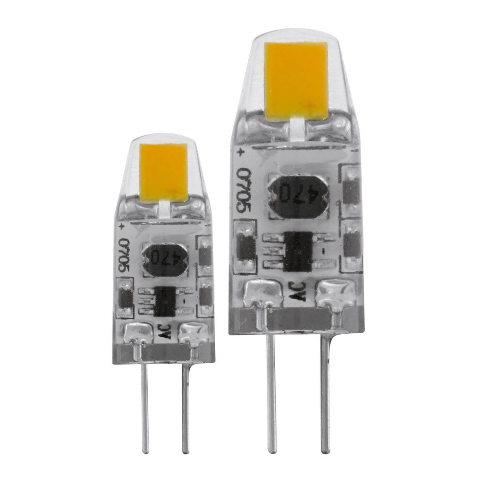 LED-lamppu G4 1,8W, lämmin valkoinen 2 kpl/pakkaus