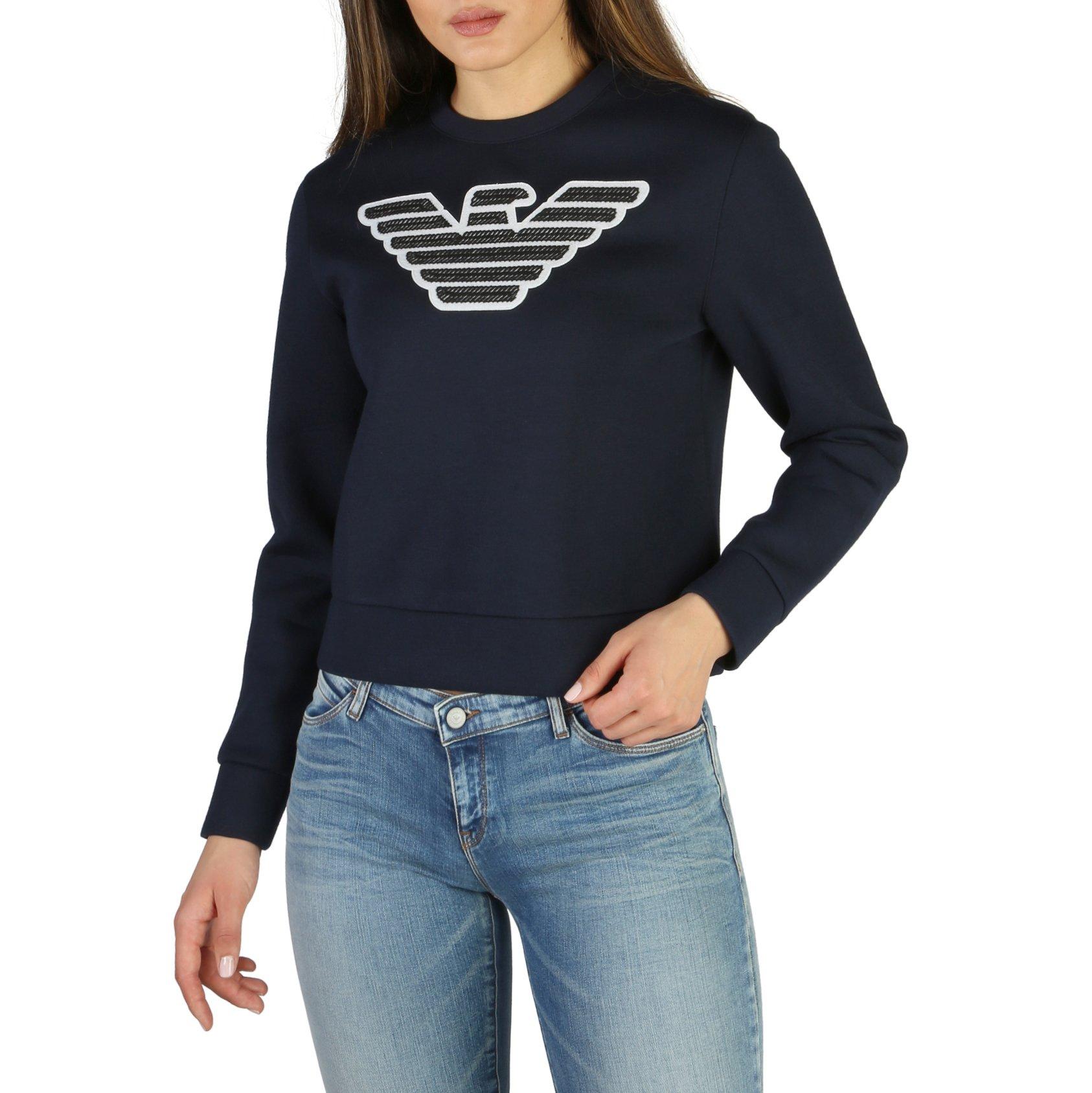 Emporio Armani Women's Sweatshirt Various Colours 3Z2M752JPUZ0 - blue 44