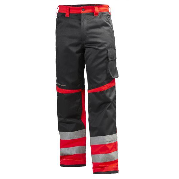 Helly Hansen Workwear Alna Työhousut huomioväri, punainen/musta C48