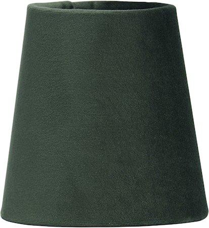 Lampeskjerm Queen Fløyel Smaragd