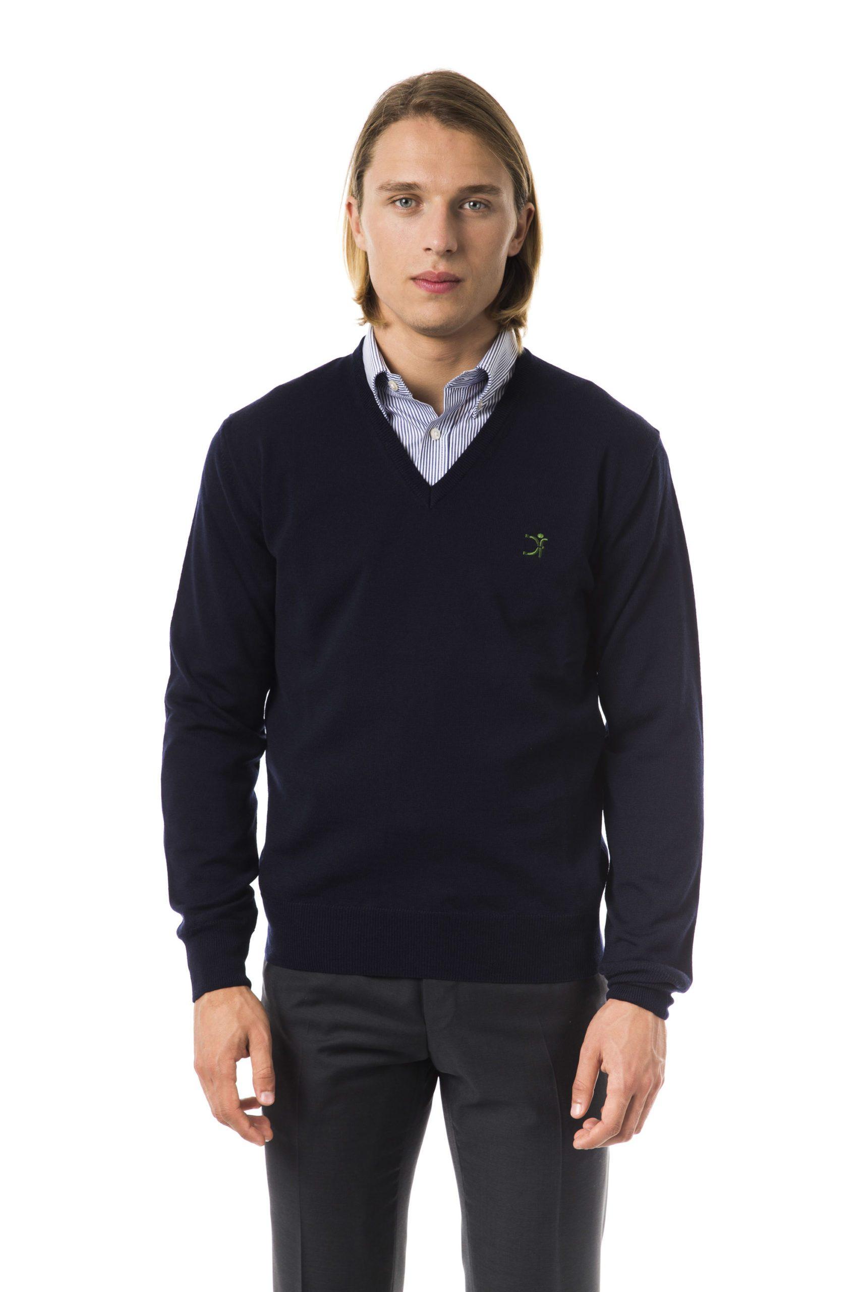 Uominitaliani Men's Sweater Blue UO816610 - XS