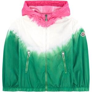 Moncler Waterproof Tie Dye Vindjacka Grön 6 år